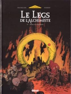 Couverture Le legs de l'alchimiste, tome 5 : Anna & Zaccharia
