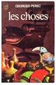 Couverture Les choses Editions J'ai lu 1965