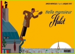 Couverture Hello, monsieur Hulot