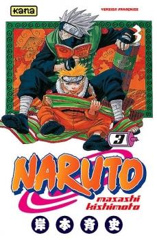 Couverture Naruto, tome 03