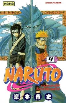 Couverture Naruto, tome 04