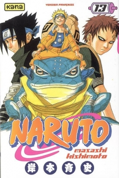 Couverture Naruto, tome 13