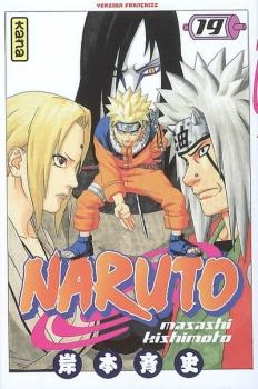 Couverture Naruto, tome 19