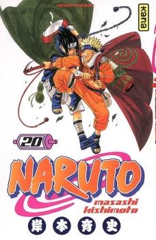 Couverture Naruto, tome 20