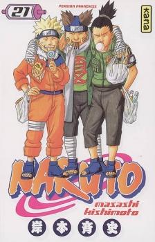Couverture Naruto, tome 21