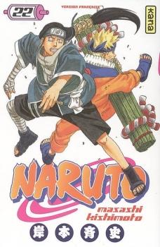 Couverture Naruto, tome 22