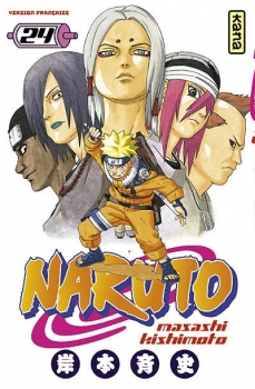 Couverture Naruto, tome 24