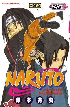 Couverture Naruto, tome 25