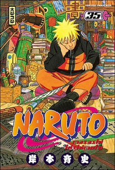 Couverture Naruto, tome 35