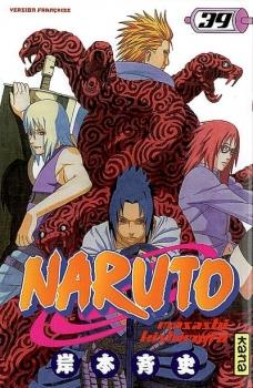 Couverture Naruto, tome 39