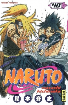 Couverture Naruto, tome 40
