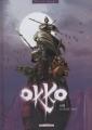 Couverture Okko, tome 01 : Le cycle de l'eau, partie 1 Editions Delcourt (Terres de légendes) 2005