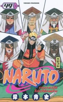 Couverture Naruto, tome 49