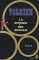 Couverture Le Seigneur des Anneaux, tome 2 : Les deux tours Editions Le Livre de Poche 1985