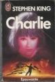 Couverture Charlie Editions J'ai Lu (Épouvante) 1993