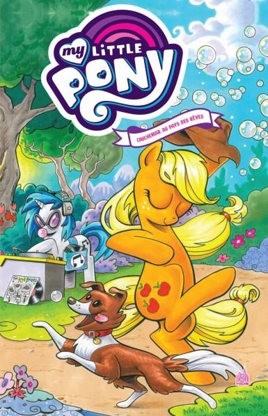 Couverture My Little Pony (Comics), tome 3 : Le Cauchemar de Rarity