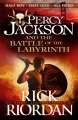 Couverture Percy Jackson, tome 4 : La bataille du labyrinthe Editions Puffin Books 2013