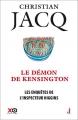 Couverture Les enquêtes de l'inspecteur Higgins, tome 24 : Le démon de Kensington Editions XO 2017