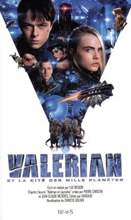 Couverture Valérian et la cité des mille planètes