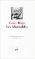 Couverture Les misérables Editions Gallimard  (Bibliothèque de la pléiade) 2015