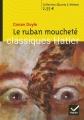 Couverture Le ruban moucheté Editions Hatier (Classiques - Oeuvres & thèmes) 2008