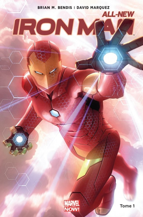 Couverture All-New Iron Man, tome 1 : Reboot