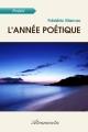 Couverture L'année poétique Editions Atramenta 2012