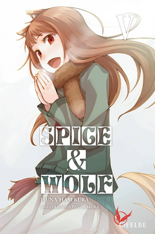 Couverture Spice & Wolf (roman), tome 5