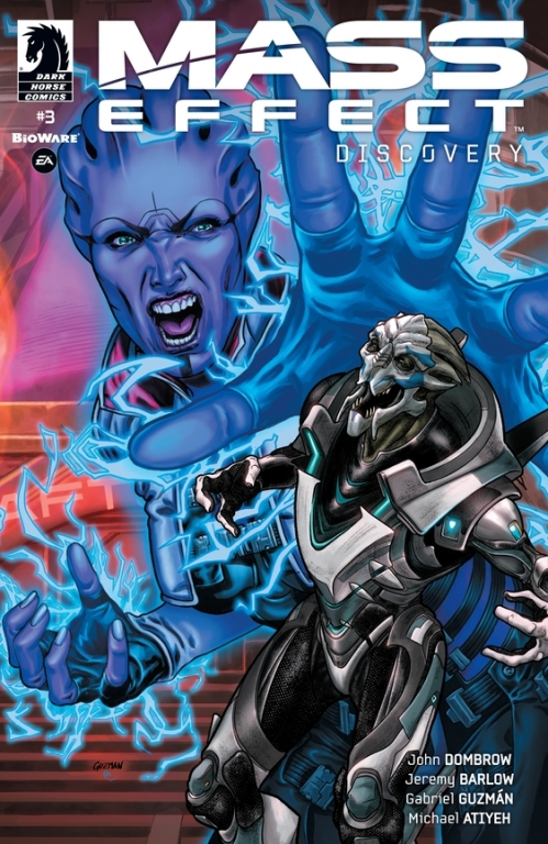 Couverture Mass Effect: Discovery, book 3