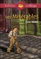 """Couverture Les Misérables """"L'épopée de Gavroche"""" Editions Hachette (Biblio collège) 2015"""