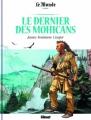 Couverture Le dernier des mohicans Editions Glénat 2017