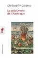 Couverture La découverte de l'Amérique Editions La découverte (Poche) 2015