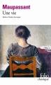 Couverture Une vie Editions Folio  (Classique) 1999