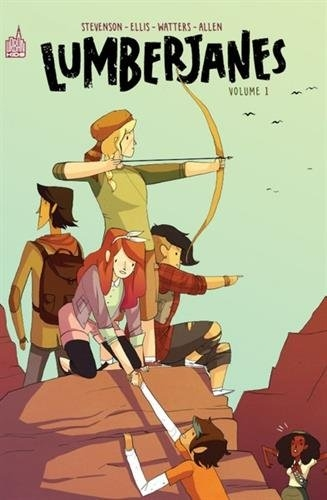 Couverture Lumberjanes, intégrale, tome 1