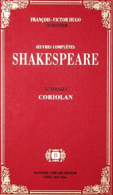 Couverture Coriolan