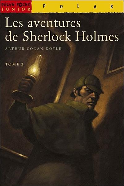 Couverture Les aventures de Sherlock Holmes (Milan), tome 2