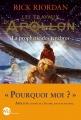 Couverture Les travaux d'Apollon, tome 2 : La prophétie des ténèbres Editions Albin Michel (Jeunesse - Wiz) 2017