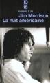 Couverture La nuit américaine Editions 10/18 (Musiques & cie) 1994