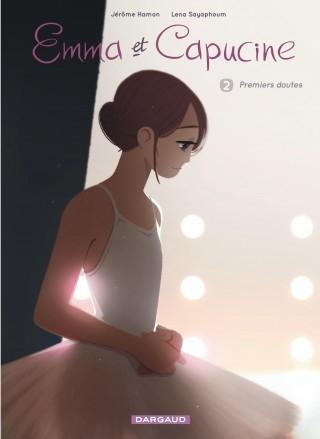 Couverture Emma et Capucine, tome 2 : Premiers doutes