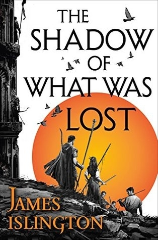 Couverture The Licanius Trilogy, book 1: The Shadow Of What Was Lost