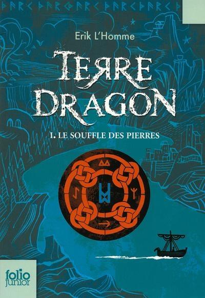 Couverture Terre-Dragon, tome 1 : Le souffle des pierres