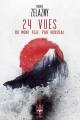 Couverture 24 vues du Mont Fuji, par Hokusai Editions Le Bélial' (Une Heure Lumière) 2017