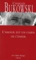 Couverture L'amour est un chien de l'enfer Editions Grasset (Les Cahiers Rouges) 2011