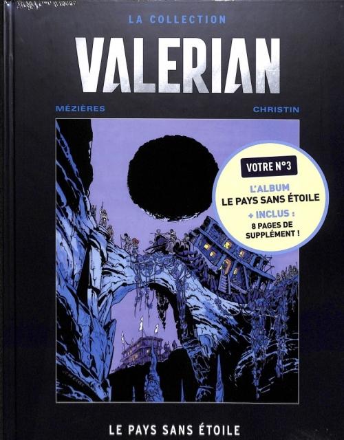 Couverture Valérian, Agent Spatio-temporel, tome 03 : Le Pays sans étoile