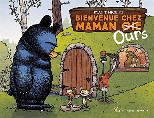 Couverture Maman Ours, tome 2 : Bienvenue chez maman ours