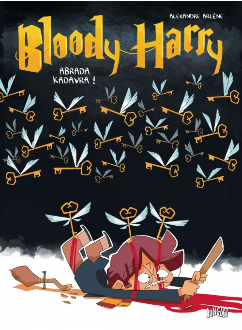 Couverture Bloody Harry, tome 2 : Abrada Kadavra