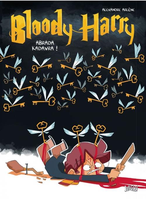 Couverture Bloody Harry, tome 2 : Adavra Kedavra