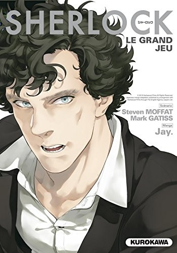Couverture Sherlock, tome 3 : Le grand jeu