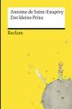 Couverture Le petit prince Editions Reclam (Universal Bibliothek) 2015