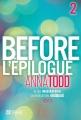 Couverture After, tome 7 : Before, partie 2 Editions De l'homme 2016